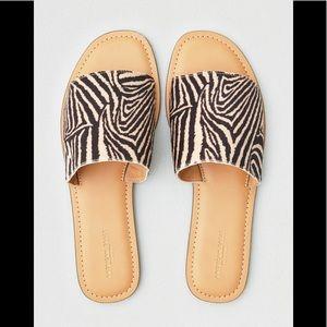 American eagle tiger strip sandal